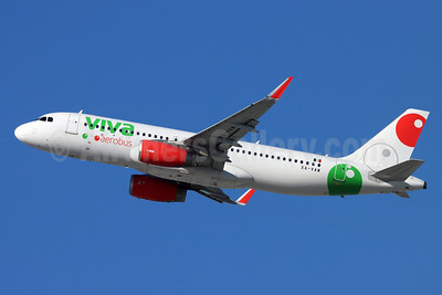 Viva Aerobus Airbus A320-232 WL XA-VAW (msn 7717) LAX (Michael B. Ing). Image: 953356.