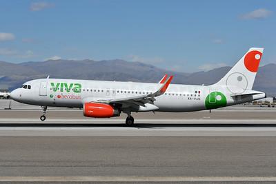 Viva Aerobus Airbus A320-232 WL XA-VAN (msn 6857) LAS (Ken Petersen). Image: 941202.