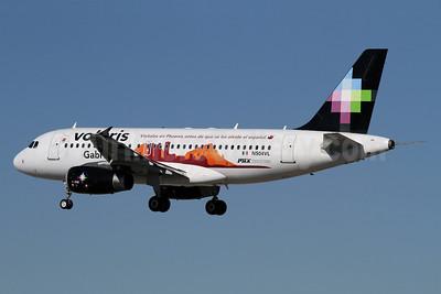 Volaris Airbus A319-132 N504VL (msn 3590) (Gabriela - Phoenix Sky Harbor Airport) LAX (James Helbock). Image: 921933.