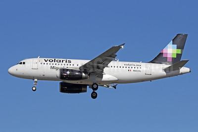 Volaris Airbus A319-132 N503VL (msn 3491) (Miguel) LAX (Michael B. Ing). Image: 909058.