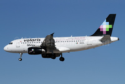 Volaris Airbus A319-133 N501VL (msn 2979) (Mexico City - 10 destinations from Mexico and 5 from USA) LAX (James Helbock). Image: 910984.