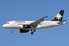 Volaris Airbus A319-133 XA-VOA (msn 2771) (Adriana-Krispy Kreme Donuts) LAX (Michael B. Ing). Image: 909055.