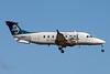 Air New Zealand Link-Eagle Airways Beech (Raytheon) 1900D ZK-EAO (msn UE-438) AKL (Colin Hunter). Image: 907962.