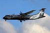 Air New Zealand Link-Mount Cook Airline ATR 72-212A (ATR 72-600) ZK-MVA (msn 1051) (All Blacks-Crazy about Rugby) TLS (Eurospot). Image: 909581.