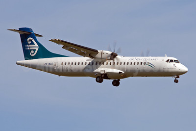 Air New Zealand Link-Mount Cook Airline ATR 72-212A (ATR 72-500) ZK-MCO (msn 628) AKL (Colin Hunter). Image: 908078.