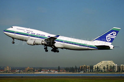 Air New Zealand Boeing 747-475 ZK-SUH (msn 24896) SYD (Rob Finlayson). Image: 928541.