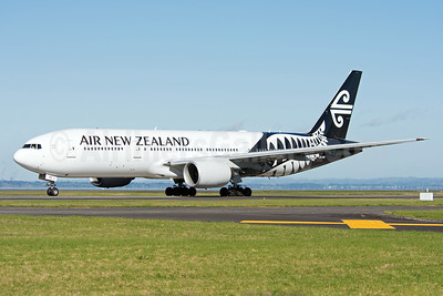 First Air New Zealand Boeing 777 in new 2013 livery