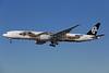 Air New Zealand Boeing 777-319 ER ZK-OKO (msn 38407) (Hobbit - Smaug) LAX (James Helbock). Image: 921693.