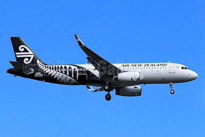 Air New Zealand Airbus A320-232 WL F-WWIY (ZK-OXD) (msn 5962) (Sharklets) TLS (Eurospot). Image: 922129.