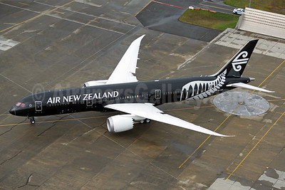 Air New Zealand's first Boeing 787.