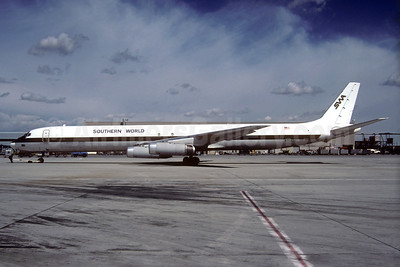 Southern World Airlines-SWA McDonnell Douglas DC-8-63 (F) N7043U (msn 46042) (Christian Volpati Collection). Image: 933782.