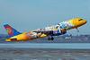 Freedomair (Freedomair.com) (Air New Zealand) Airbus A320-232 ZK-OJO (msn 2663) (WB Movie World) AKL (Colin Hunter). Image: 901502.
