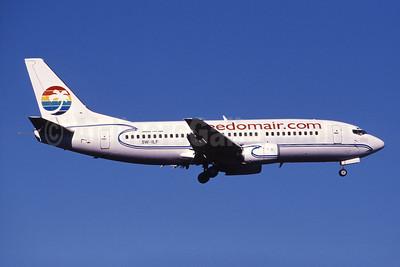 Freedomair (Freedomair.com) (Air New Zealand) Boeing 737-3Q8 5W-ILF (msn 26282) (Polynesian colors) SYD (John Adlard). Image: 907700.