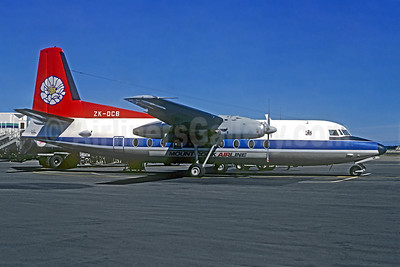 Mount Cook Airline Fokker F.27 Mk. 200 ZK-DCB (msn 10445) (Civair colors) AKL (Christian Volpati Collection). Image: 947971.