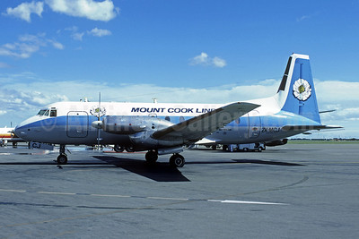 Mount Cook Line Hawker Siddeley HS.748-233 Series 2A ZK-MCJ (msn 1661) AKL (Christian Volpati Collection). Image: 946013.