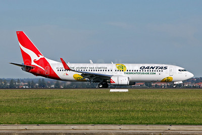 QANTAS Airways (JetConnect) Boeing 737-838 WL ZK-ZQF (msn 34204) (TheGreatCrusade.com) SYD (John Adlard). Image: 906445.
