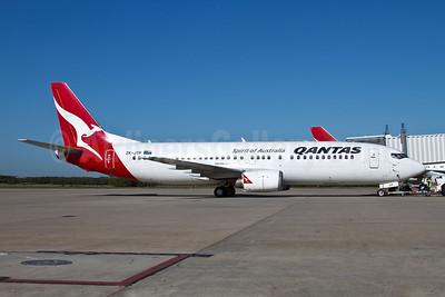 QANTAS Airways (JetConnect) (New Zealand) Boeing 737-476 ZK-JTP (msn 24441) BNE (Peter Gates). Image: 906517.