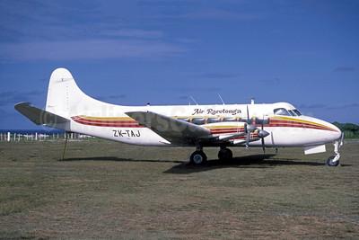 Air Rarotonga de Havilland DH.114 Riley Heron ZK-TAJ (msn 14131) AIT (Anders Holmstrom - Bruce Drum Collection). Image: 951601.