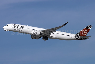 Fiji Airways (2nd) Airbus A350-941 DQ-FAI (msn 299) LAX (Michael B. Ing). Image: 952296.