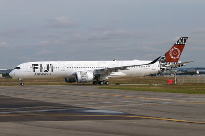 Fiji's first Airbus A350-900