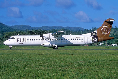 Fiji Link ATR 72-212A (ATR 72-600) DQ-FJX (msn 1221) (Jacques Guillem Collection). Image: 934638.