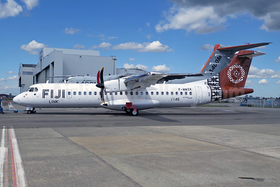 First ATR 72-600 for Fiji Link