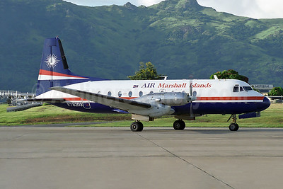 Air Marshall Islands Hawker Siddeley HS.748-400 Series 2B V7-8203 (msn 1796) NAN (Rob Finlayson). Image: 951893.