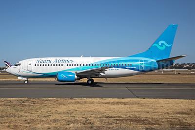Nauru Airlines Boeing 737-36N VH-PNI (msn 28555) SYD (John Adlard). Image: 940841.