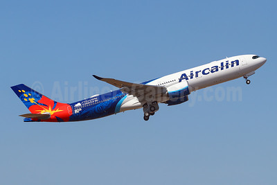 First flight of Aircalin's first Airbus A330neo - Best Seller