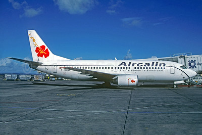 Aircalin-Air Caledonie International Boeing 737-33A F-ODGX (msn 24094) AKL (Jacques Guillem Collection). Image: 934375.