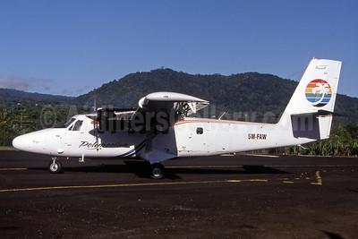 Polynesian Airlines de Havilland Canada DHC-6-300 Twin Otter 5W-FAW FGI (Christian Laugier). Image: 907509.