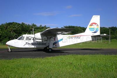 Polynesian Airlines Britten Norman BN-2A-8 Islander 5W-FAV (msn 42) APW (Christian Laugier). Image: 907508.