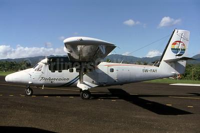 Polynesian Airlines de Havilland Canada DHC-6-300 Twin Otter 5W-FAY (msn 690) FGI (Christian Laugier). Image: 907510.