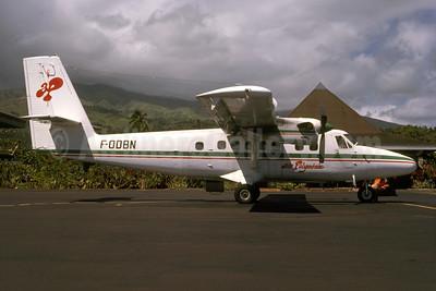 Air Polynésie de Havilland Canada DHC-6-300 Twin Otter F-ODBN (msn 470) PPT (Alexandre Avrane - Bruce Drum Collection). Image: 954815.
