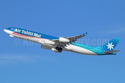Air Tahiti Nui Airbus A340-313 F-OJGF (msn 385) LAX (Michael B. Ing). Image: 926502.