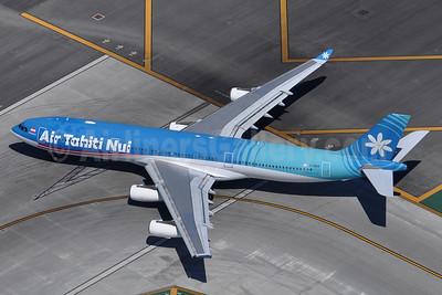 Air Tahiti Nui Airbus A340-313 F-OSEA (msn 438) LAX (Robbie Shaw). Image: 937696.