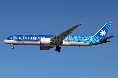 "1st 787, ""Fakarava"", delivered October 9, 2018"
