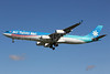 Air Tahiti Nui Airbus A340-313 F-OJGF (msn 385) LAX (Michael B. Ing). Image: 907032.