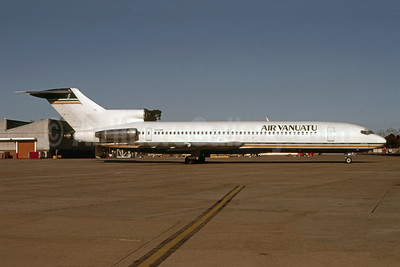 Air Vanuatu Boeing 727-276 VH-TBN (msn 21479) (Australian colors) SYD (Robert N. Smith - Bruce Drum Collection). Image: 955271.