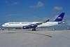Aerolineas Argentinas Airbus A340-211 LV-ZPJ (msn 074) MIA (Bruce Drum). Image: 104275.