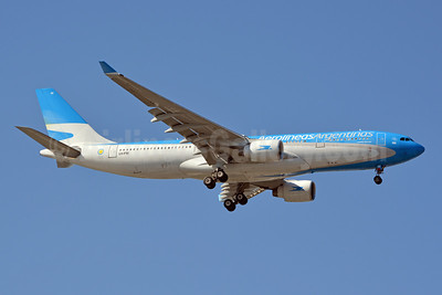 Aerolineas Argentinas' first Airbus A330