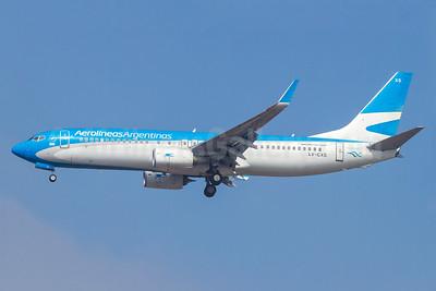 Aerolineas Argentinas Boeing 737-81D WL LV-CXS (msn 39425) GRU (Rodrigo Cozzato). Image: 935529.