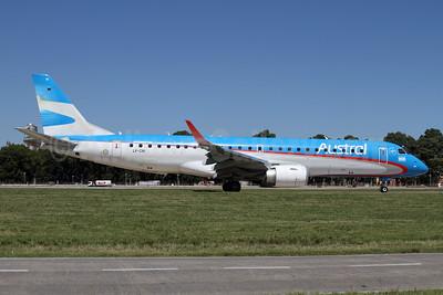 Austral Lineas Aereas Embraer ERJ 190-100 IGW LV-CIH (msn 19000428) AEP (Alvaro Romero). Image: 923435.