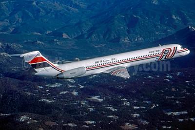 Austral Lineas Aereas McDonnell Douglas DC-9-81 (MD-81) N10027 (msn 48025) (Stephen Tornblom Collection). Image: 933126.