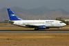 Austral Lineas Aereas Boeing 737-528 LV-AZU (msn 25235) (Aerolineas Argentinas colors) SCL (Marcelo F. De Biasi). Image: 900170.