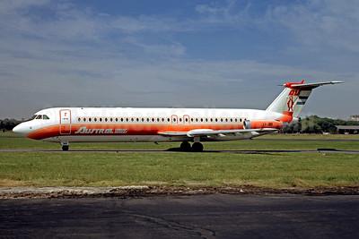 Damaged beyond repair on landing at Bahia Blanca on December 4, 1973