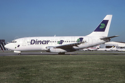 Dinar Líneas Aéreas Boeing 737-201 LV-ZXS (msn 20211) AEP (Christian Volpati Collection). Image: 944104.