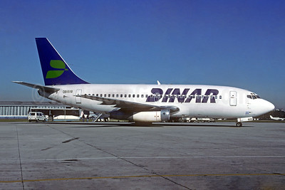 Leased from Aero Continente on July 17, 1995