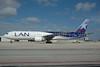 LAN Argentina Boeing 767-316 ER LV-BFU (msn 27615) MIA (Bruce Drum). Image: 100208.