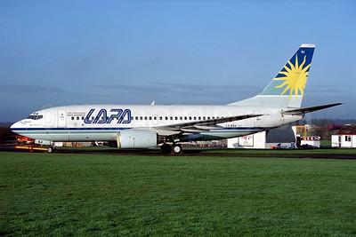 LAPA (Líneas Aéreas Privadas Argentinas) Boeing 737-76N LV-ZSJ (msn 28609) QLA (Antony J. Best). Image: 936701.